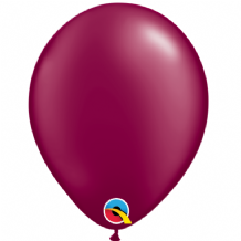 "Pearl Burgundy 5 inch Balloons - Qualatex 5"" Balloons 100pcs"